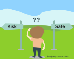 how risky is forex tradng